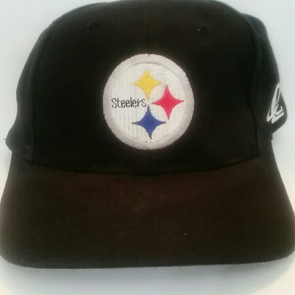 ea692a0b2 Logo Athletics Accessories | Classic Pittsburgh Steelers Hat Black ...